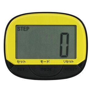 【5%OFFクーポン発行中】CREPHA/クレファー TS-P007-YW 歩数計 スポーツウォッチ 腕時計 ランニング ウォーキング