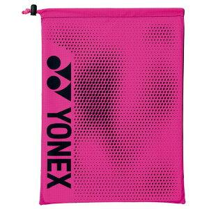 【5%OFFクーポン発行中】YONEX /ヨネックス BAG2093 テニス・バドミントン バッグ(SUPPORT series) シューズケース ブラック ピンク BAG2093 【39ショップ】