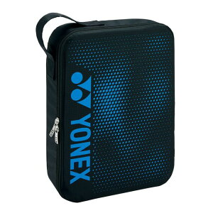 【5%OFFクーポン発行中】YONEX /ヨネックス BAG2096L テニス・バドミントン バッグ(SUPPORT series) ランドリーポーチL ブラック ブルー BAG2096L 【39ショップ】