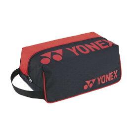 【5%OFFクーポン発行中】YONEX /ヨネックス BAG2133 テニス・バドミントン バッグ シューズケース ブラック/レッド BAG2133【39ショップ】