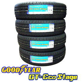 グッドイヤー2019年製造 新品/正規品GT-Eco Stage (エコステージ)155/80R13 79S 4本セット低燃費サマータイヤ送料無料(沖縄/離島除く)