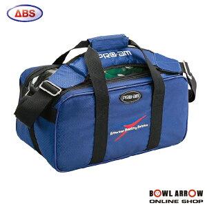 ABS B20-440(ブルー)ボウリングバッグ ボウリング ボール 小物 2個 人気 シューズ バッグ 売れ筋 ブルー 青 グッズ 用品 鞄 ボーリング