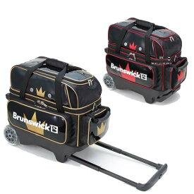 Brunswick BC140 ダブル ローラー ブランズウィック ボウリング バッグ 2個入 ボウリング用品 ボーリング グッズ