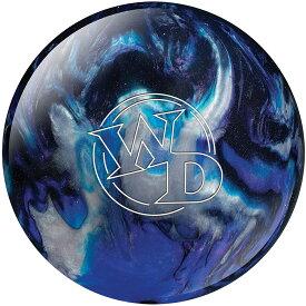 (コロンビア300) ボウリングボール ホワイトドット ブルー/ブラック/シルバー 【スペアボール】