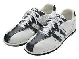ABS ボウリング シューズ S-380 ホワイト・ブラック ボウリング用品 ボーリング グッズ 靴