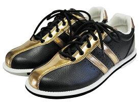 ABS ボウリング シューズ S-380 ブラック・ブロンズ ボウリング用品 ボーリング グッズ 靴