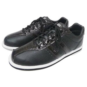 ABS ボウリング シューズ S-380 ブラック・ダークブラウン ボウリング用品 ボーリング グッズ 靴