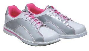 HI-SP ボウリング シューズ HS-390 ホワイト・ピンク ボウリング用品 ボーリング グッズ 靴