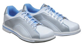 HI-SP ボウリング シューズ HS-390 ホワイト・ライトブルー ボウリング用品 ボーリング グッズ 靴