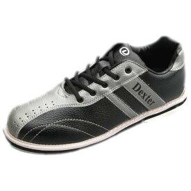 Dexter ボウリング シューズ Ds38 ブラック・シルバー デクスター ボウリング用品 ボーリング グッズ 靴