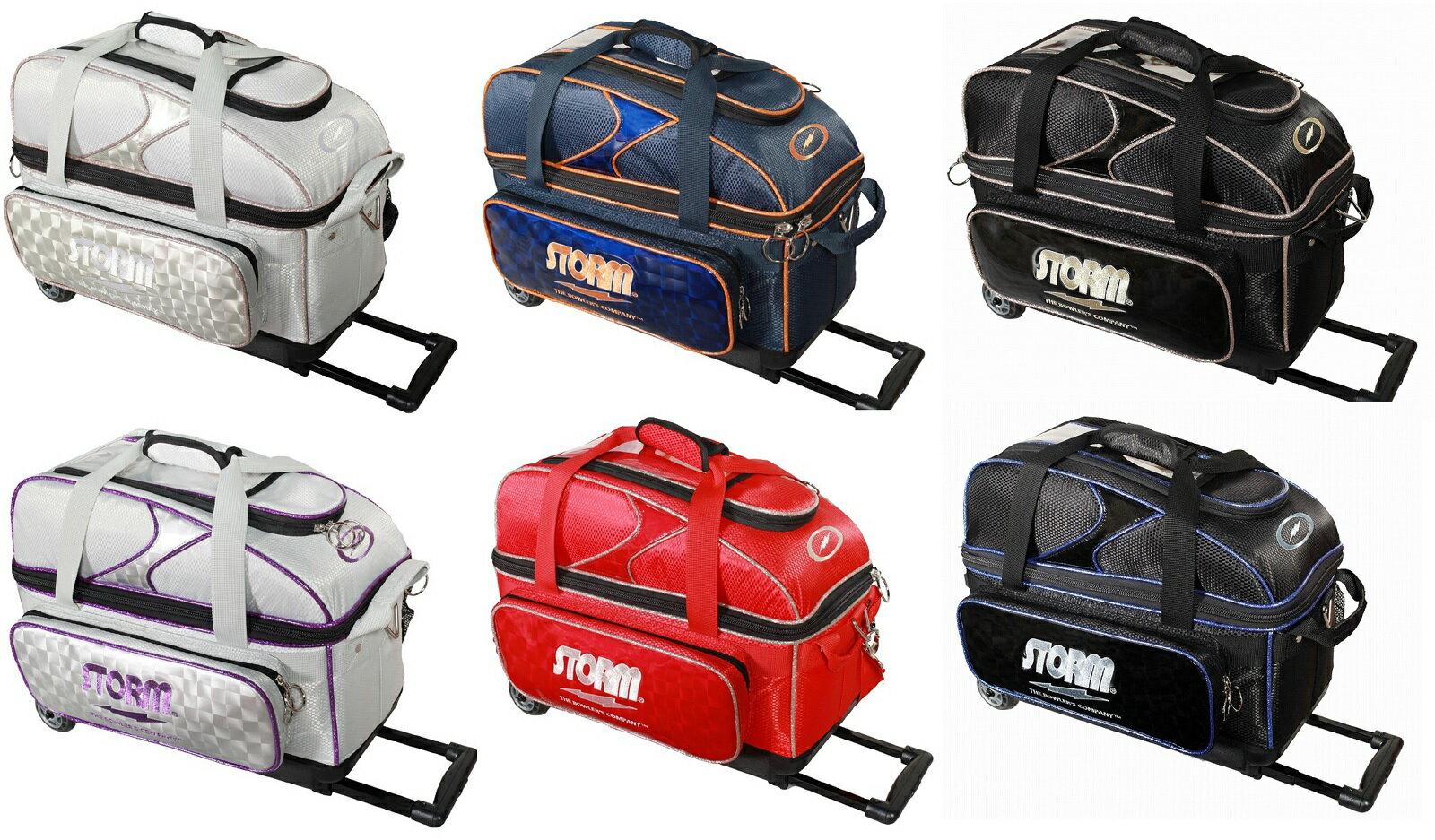 STORM ボウリング バッグ SB139-CJ 2ボール キャリー 全6色 ストーム バッグ ボウリング用品 ボーリング グッズ