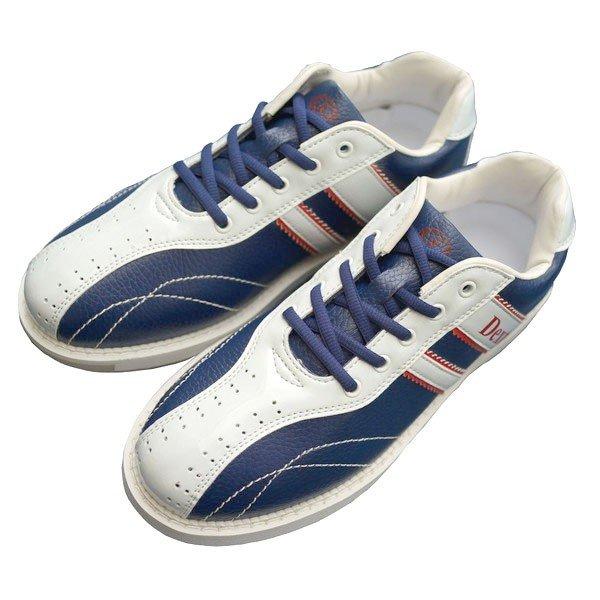 Dexter ボウリング シューズ Ds38 ネイビー・ホワイト デクスター ボウリング用品 ボーリング グッズ 靴