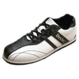 Dexter ボウリング シューズ Ds38 ホワイト・ブラック デクスター ボウリング用品 ボーリング グッズ 靴