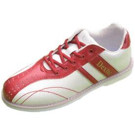 Dexter ボウリング シューズ Ds38 ホワイト・レッド デクスター ボウリング用品 ボーリング グッズ 靴