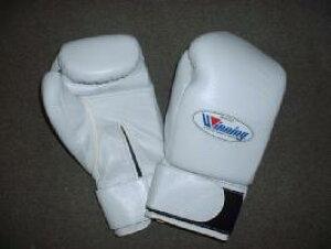ウイニング ボクシンググローブ(練習用プロタイプ)マジックテープ巻式8オンス 青 赤 白 黒