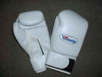 Winning 8 oz training gloves (professional type) with Velcro closure