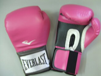 8 ounces of training glove pink lady's in the ever last
