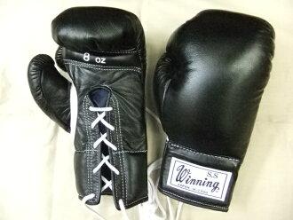 能立即发送的复版!作为获胜8盎司手套罕见的前标识软件型黑色