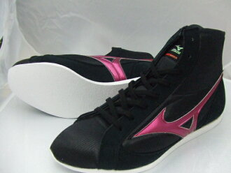 With Mizuno short boxing shoes (our store original black X metal Rose) orchid bird logo original shoes bag containing (boxing article, ring shoes)