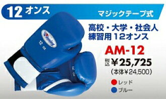 Glove (12 ounces) boxing glove for the winning amateur exercise