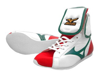 Mizuno bxing shoes for professional use AMERICA-YA original in white x green x red