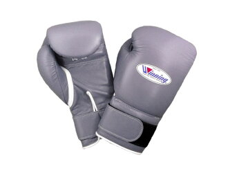 【Limited item / Special price】16oz Winning boxing gloves with velcro closure in GRAY