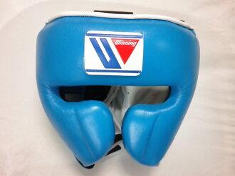 供Winning推荐的脑袋齿轮特别的彩色·天蓝色获胜练习使用的脑袋保护护面具型