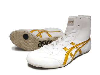 ASICS EX-EO wrestling shoes White x Gold x white Americaya original color for professional use