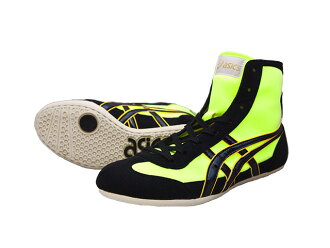 ASICS EX-EO wrestling shoes yellow x black Amerikaya original color for professional use
