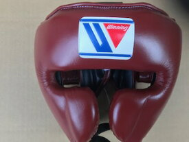 【特別価格】ブラウン Winning おすすめヘッドギア特別カラーウイニング練習用ヘッドガードフェイスガードタイプ