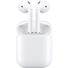 【楽天イーグルス感謝祭×ポイントアップ】第2世代 APPLE AirPods with Charging Case[ワイヤレス 有線充電] Bluetooth対応 新品 メーカー:APPLE