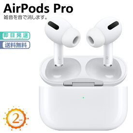 【年末年始大感謝特価セ−ル】Apple AirPods Pro アップル純正ワイヤレスイヤホン エアポッズプロ Bluetooth対応ワイヤレスイヤホン 新品 メーカー:APPLE 発売日:2019年10月30日