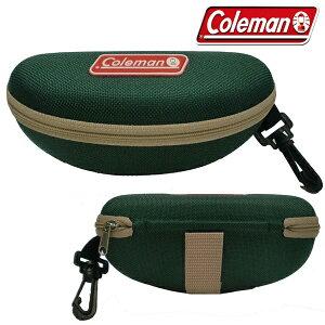 まとめ買い コールマン 正規品 セミハードケース ベルト リュック に掛けられる 2WAY Coleman サングラス用 ケース グリーン CO-07(検索: アウトドア 登山 メガネケース 眼鏡ケース 人気 小物入れ