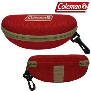まとめ買い コールマン 正規品 セミハードケース ベルト リュック 掛けられる Coleman サングラス用 ケース レッド CO-07(検索: アウトドア 登山 メガネケース 眼鏡ケース 人気 小物入れ ) サング
