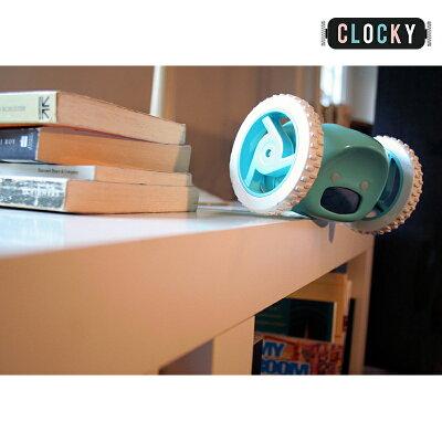 【送料無料】クロッキーClocky動く目覚まし時計逃げるアラーム時計アイデア商品ギフトラッピング可能日本語取説付き