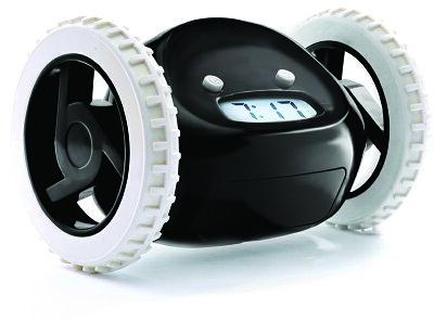 【送料無料】ClockyChromeクロッキー目覚まし時計(カラー:ブラック・ホワイト)ギフトラッピング可能