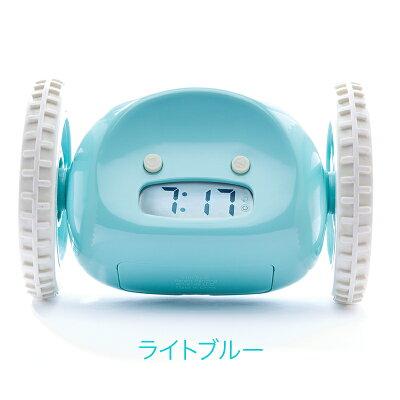 【送料無料】ClockyChromeクロッキー目覚まし時計(カラー:クローム)ギフトラッピング可能