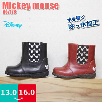 Baby boys girls anime boots Mickey Mickey Disney Disney Dimas is boobs warm water urethane insulation cold side Gore rubber fasteners slip □ ds7165 □