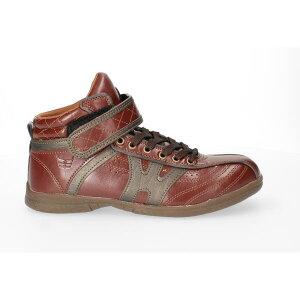 【あす楽】【送料無料】 Wide wolves ワイド ウルブズ メンズ 安全靴 セーフティシューズ おたふく手袋【WW151H】メンズ 男性用 鋼鉄先芯 防滑 ハイカット 紐靴 ひも靴 かっこいい カジュアル 作