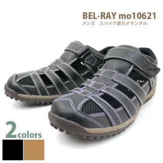 把它放在男人的轻便鞋凉鞋感觉舒适的设计网格男式鞋贝尔贝雷 3E 和解吸 □ mo10621 □