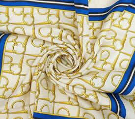 CELINE セリーヌセリーヌ・スカーフ【CELIN】【セリーヌ】【スカーフ】【シルク】【中古】