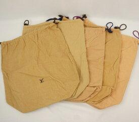 LOUIS VUITTON ルイ・ヴィトン ルイ・ヴィトン 保存袋 (5枚セット)巾着タイプ【中古】【保存袋】