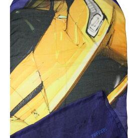 フェラーリ プリント スカーフ La Ferrari ネイビー