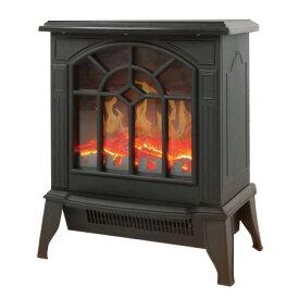 【送料無料(一部地域を除く) 】【ベルソス/暖炉型ファンヒーター/VS-HF3201(カラー:ブラック)】疑似炎照明/火を使わないので空気が汚れない 転倒時自動OFF/サーモスタット/安全でクリーンな暖房 Sマーク認証品