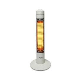【送料無料(一部地域を除く)】PH-307 【TEKNOS テクノス スリムハロゲンヒーター 300W1灯(ホワイト) PH-307】PH307/トイレ/キッチン暖房/速暖