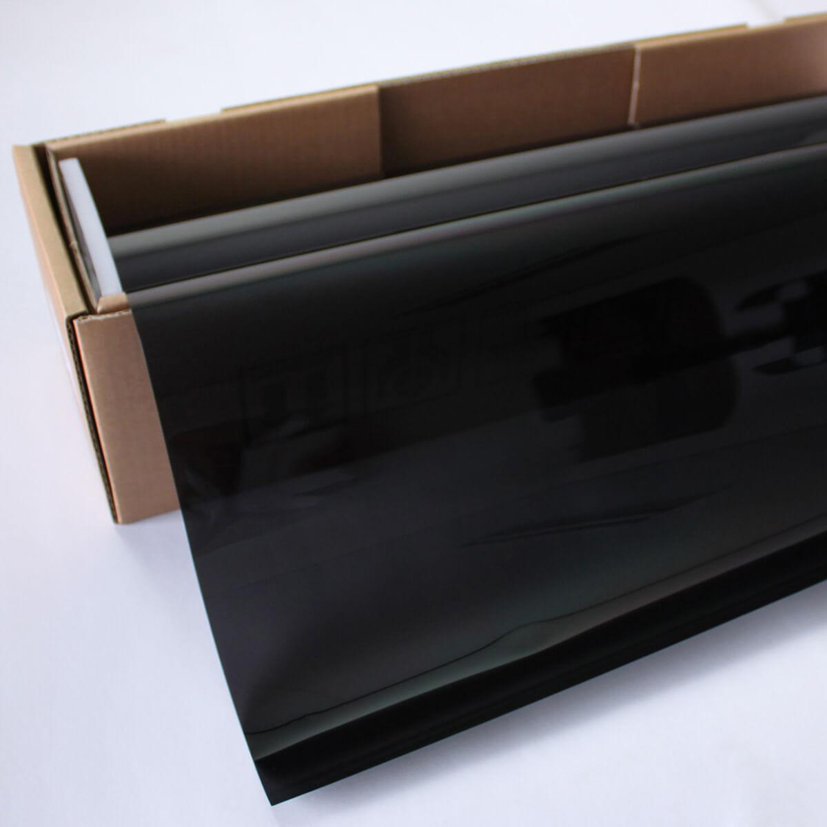送料無料 カーフィルム 窓ガラスフィルム プロ・スモーク05(6%) 1m幅×30mロール箱売 スモークフィルム 遮熱フィルム 断熱フィルム UVカットフィルム ブレインテック Braintec