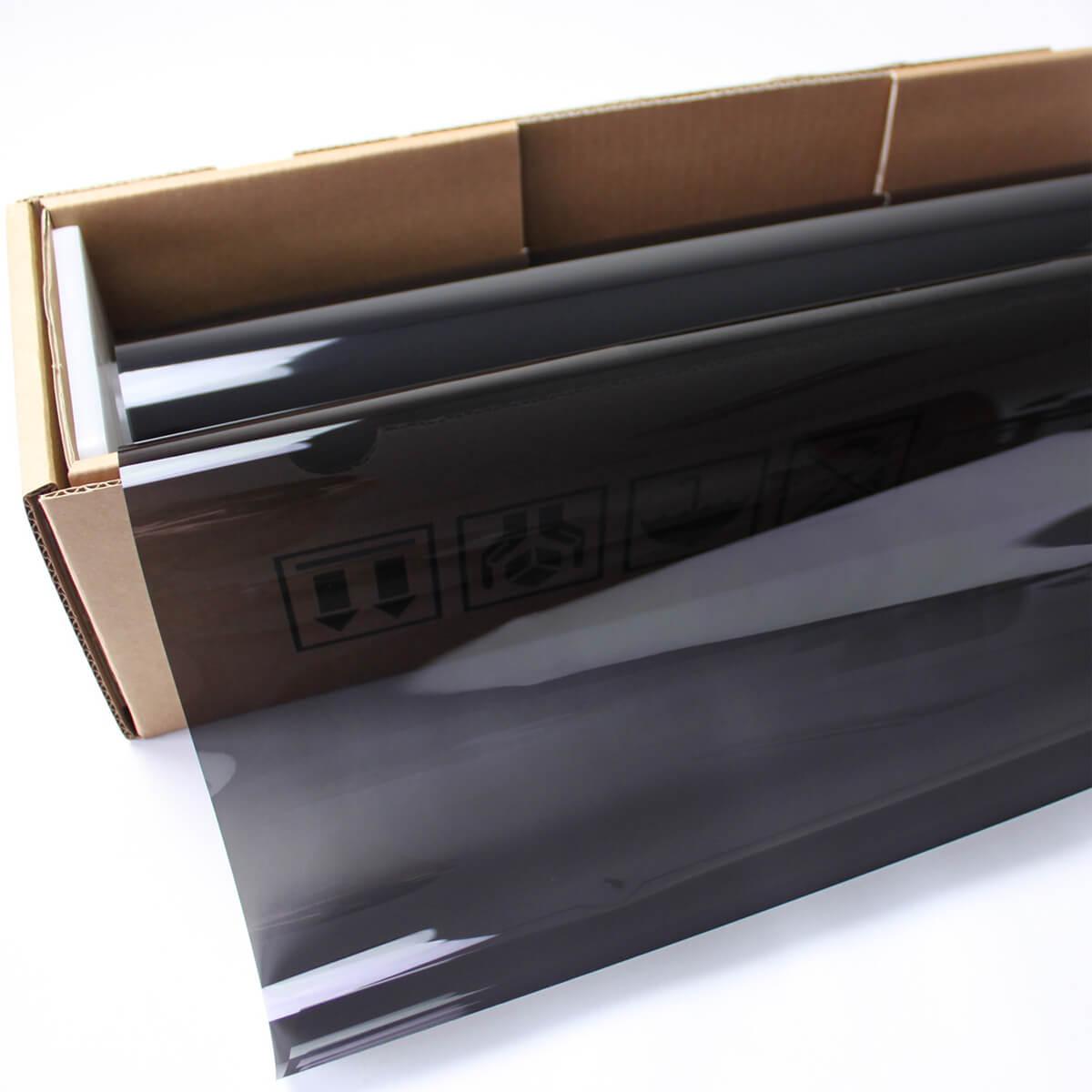 送料無料 カーフィルム 窓ガラスフィルム プロ・スモーク15(15%) 1m幅×30mロール箱売 スモークフィルム 遮熱フィルム 断熱フィルム UVカットフィルム ブレインテック Braintec