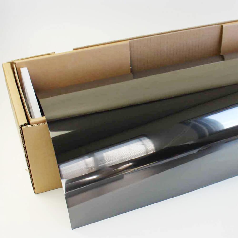 送料無料 カーフィルム 窓ガラスフィルム プレミアム・ブラックパール05(4%) 50cm幅×30mロール箱 スモークフィルム 原着フィルム 遮熱フィルム 断熱フィルム UVカットフィルム ブレインテック Braintec