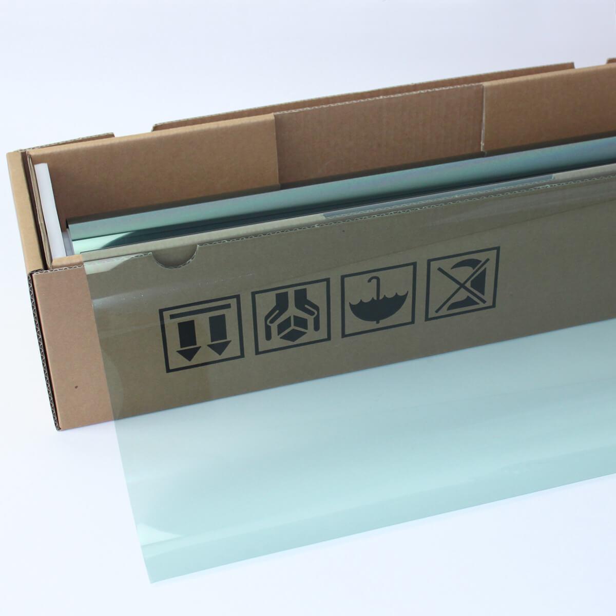 ウィンドウフィルム 窓ガラスフィルム スーパーUV400グリーン65(65%) 50cm幅×30mロール箱売 遮熱フィルム 断熱フィルム UVカットフィルム ブレインテック Braintec