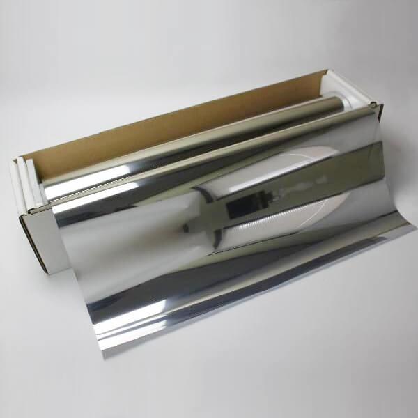 ウィンドウフィルム 窓ガラスフィルム シルバー15 1m幅×長さ1m単位切売 マジックミラーフィルム 遮熱フィルム 断熱フィルム UVカットフィルム ブレインテック Braintec